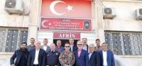 İTSO Heyeti  Afrin'de İncelemelerde Bulundu