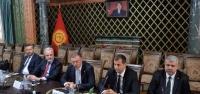 İTSO Heyeti'nin Kırgızistan'da Görüşmeleri Sürüyor