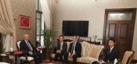 JICA Türkiye Başkanı Yasuı Hatay'da