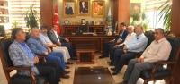 Kaymakam Aydın'dan Başkan Vurucu'ya Veda Ziyareti