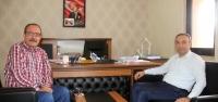 Kaymakamdan Başkan Yardımcısı Öztaş'a Ziyaret