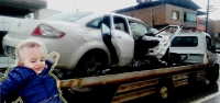 Kazada Yaralanan Ayaz Bebek Hayatını Kaybetti