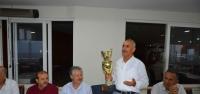 Kupa Başkan Culha'ya Teslim Edildi