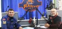 Mega Radyo'da 'Motosiklette Kask'ın Önemi' Anlatıldı!
