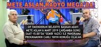METE ASLAN Mega Radyo'da Konuşacak!