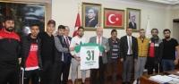 Meydan Spor'dan Başkan Tosyalı 'ya Ziyaret