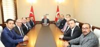 MHP'den Vali Doğan'a Ziyaret