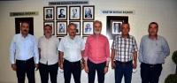 Muhtarlar Derneği Yönetiminden İTSO'ya Nezaket Ziyareti