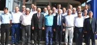 Muhtarlardan Başkan Culha'ya Ziyaret