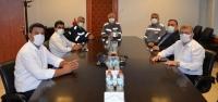 Özçelik-İş'ten Mesut Keyfli'ye Ziyaret