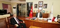 Rektör Dereli'den Seyfi Başkan'a Ziyaret