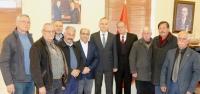 Sanayi Sitesi Kooperatifinden Kaymakam Yönden'e Ziyaret