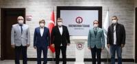 Sedat Uysal'dan Rektör Depçi'ye Ziyaret