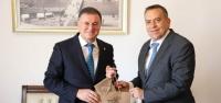 Slovenya Büyükelçisi Seligo'dan Başkan Savaş'a Ziyaret
