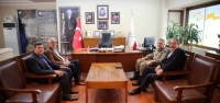 Tugay Komutanı Kılınç'tan Seyfi Başkana Ziyaret