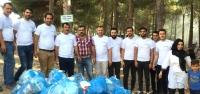 TÜGVA Gençleri Piknik  Alanındaki Çöpleri Topladı