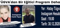 TÜGVA'dan Bir Eğitici Program Daha
