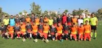 Ünlü Futbolcular Kardeşlik için Yeşil Sahada Buluştu