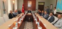 Vali Ata, DSİ Yatırımları Toplantısına Başkanlık Etti