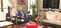 Vali Ata, Tuğgeneral Kılınç'ı Kabul Etti
