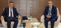 Yavuz Müdür Başkan Savaş'ı Ziyaret Etti