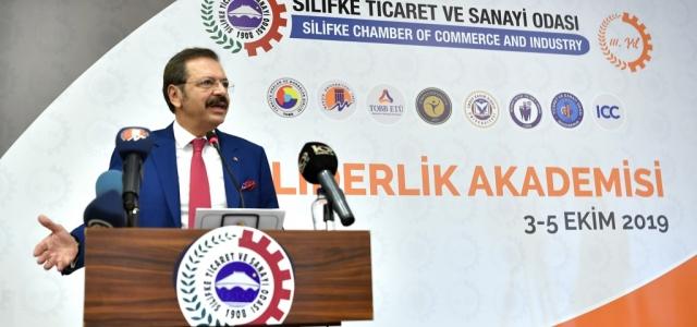 TOBB Başkanı Hisarcıklıoğlu II. Liderlik Akademisinde