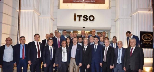 TOBB Başkanı Hisarcıklıoğlu İTSO'da