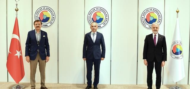 TOBB Başkanı Hisarcıklıoğlu'na Anlamlı Ziyaret