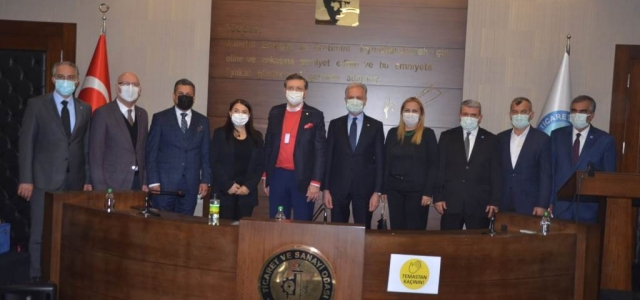 TOBB Başkanı Hisarcıklıoğlu'ndan İTSO'ya Ziyaret