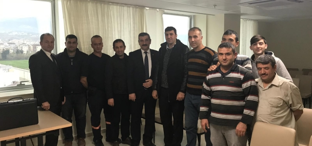 TOLEYİS'ten İskenderun Yurt Müdürlüklerine Ziyaret