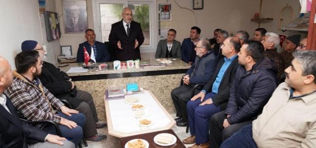 Tosyalı: 'Makama Değil, Hizmete Talibiz'