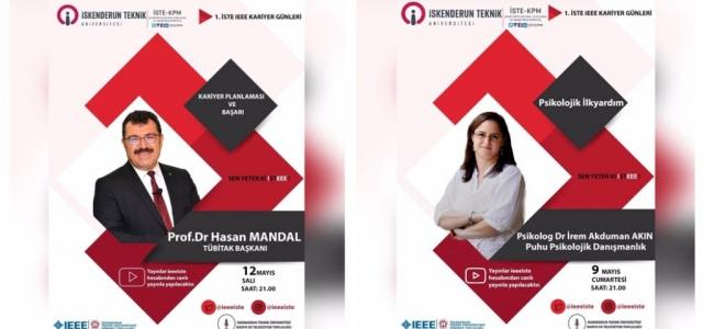 TÜBİTAK Başkanı Mandal'dan İSTE'de Kariyer Dersi