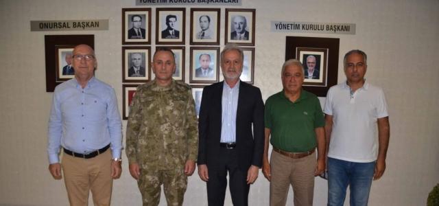 Tuğgeneral Kılınç'tan İTSO'ya Veda Ziyareti
