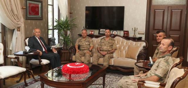 Tuğgeneral Koçum'dan Vali Ata'ya Ziyaret