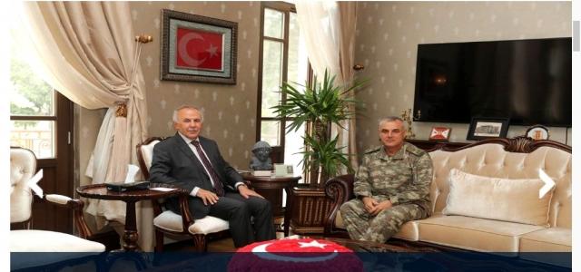 Tuğgeneral Tozak'tan Vali Ata'ya Ziyaret