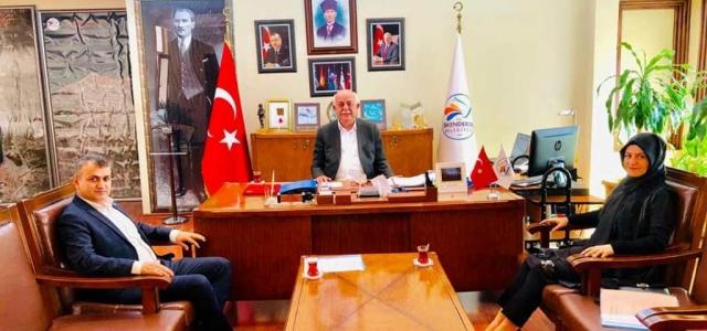Tügva Hatay Temsilciliğinden Başkan Seyfi Dingil'e Ziyaret