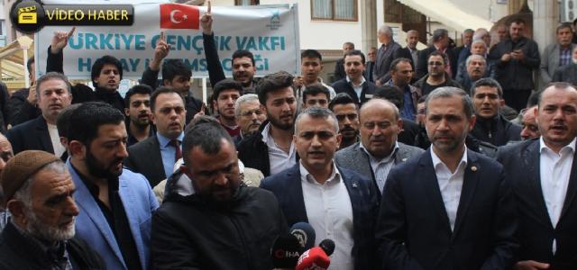 TÜGVA Saldırıyı Protesto Etti
