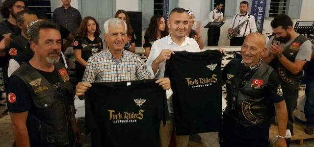 'Türk Riders Chopper Club' Arsuz'da