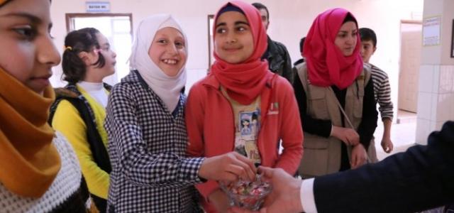 Türk ve Suriyeli Öğrenciler Kaynaşıyor