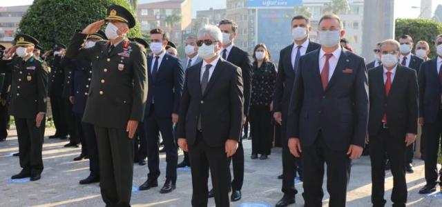 Ulu Önder Atatürk Hatay'da Hasretle Anıldı