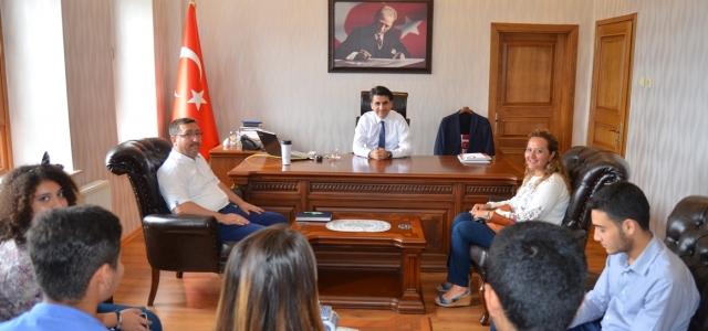 Urfa Gezisi ile Ödüllendirilen Öğrencilerden Ziyaret