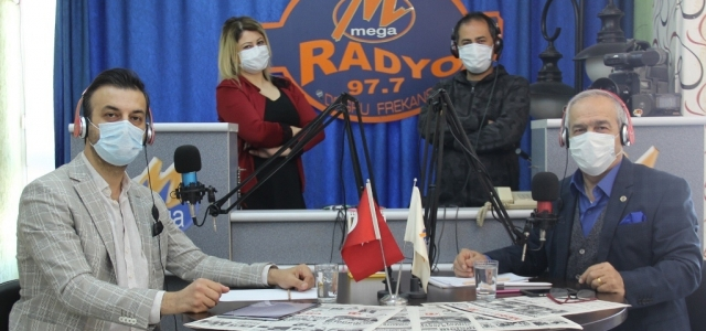 Ürolog Dr. Yavuz, Mega Radyo'da Konuştu