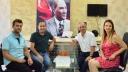 Mega Medya Ailesine Kutlama Ziyareti