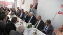 CHP'li Şahutoğlu, DP Adayı Aslan'ı Ziyaret Etti