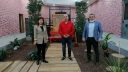 Temizyürek'ten AGF Genel Başkanı Coşkun'a Ziyaret