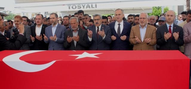 Uzman Çavuş Murat Semerci Dualarla Uğurlandı