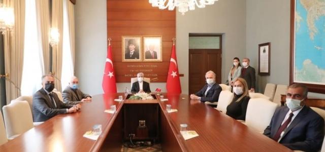 Vali Doğan, İTSO Yönetimini Ağırladı