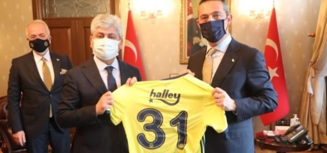 Vali Doğan'a Fenerbahçe Forması