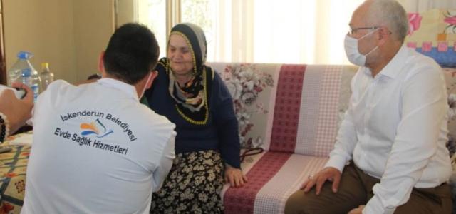 'Vatandaşlar Evde Sağlık Hizmetinden Memnun'