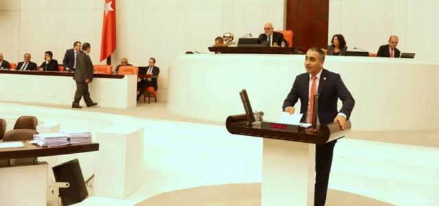 Vekil Kaşıkçı Hatay'ı Meclise Taşıdı